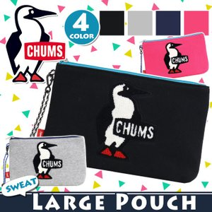 ポーチ CHUMS チャムス 送料無料 フラット 正規品 サガラ刺繍 メンズ レディース 男女兼用 ブランド セール|pro-shop