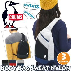 ボディバッグ CHUMS チャムス 正規品 ボディ スウェット ボディーバッグ 斜めがけ メンズ レディース 男女兼用 ブランド 旅行 レジャー フェス アウトドア|pro-shop