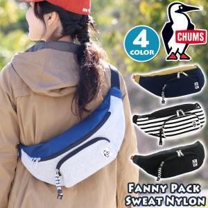 ボディーバッグ CHUMS チャムス ボディバッグ ボディ バッグ 斜めがけ Fanny Pack Sweat Nylon ファニーパック メンズ レディース ブランド 旅行 フェス|pro-shop
