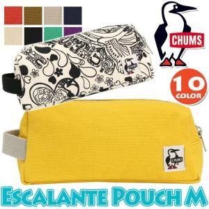 ポーチ CHUMS チャムス Escalante エスカランテ 正規品 ミニポーチ メンズ レディース ユニセックス バッグインバッグ メンズ レディース 男女兼用 ブランド|pro-shop