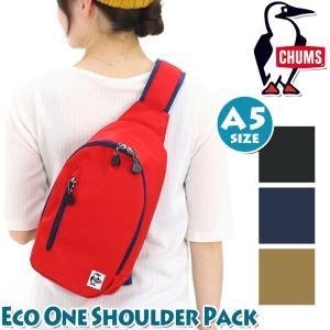 ボディバッグ CHUMS チャムス Eco One Shoulder Pack エコ ワンショルダー バッグ 2020 pro-shop