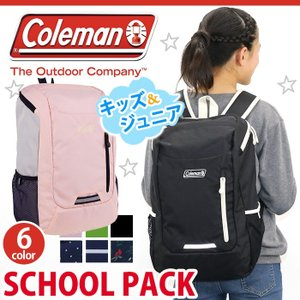 キッズリュック 送料無料 Coleman コールマン 子供 ジュニア スクールバッグ 通学リュック 高校生 デイパック バックパック リュックサック リフレクター|pro-shop