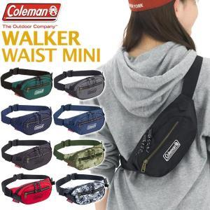 2020 春夏 新作 ウエストバッグ Coleman コールマン WALKER WAIST MINI ウォーカー ウエスト ミニ ボディーバッグ メンズ レディース|pro-shop