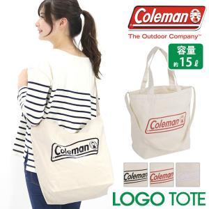 2020 春夏 新作 トートバッグ Coleman コールマン 2WAY ロゴ ショルダー トート バッグ 正規品 メンズ レディース LOGO TOTE|pro-shop