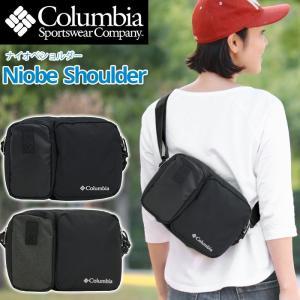 ショルダーバッグ Columbia コロンビア スクエア ナイオベ ショルダー バッグ メンズ レディース ブランド ツーリング PU8245 ロゴ 刺繍 セール|pro-shop