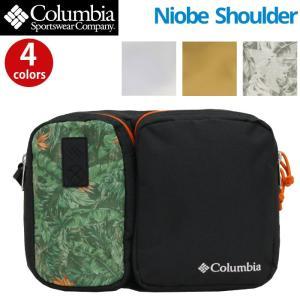 ショルダーバッグ コロンビア Columbia スクエア ナイオベ ショルダー バッグ メンズ レディース ブランド PU8245 ロゴ 刺繍 ツーリング セール|pro-shop