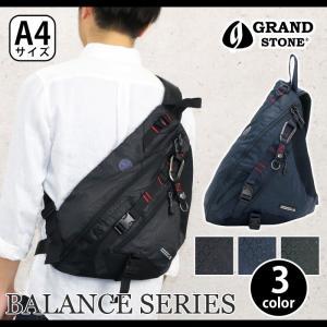 ボディバッグ GRAND STONE グランドストーン BALANCE バランス ボディーバッグ ワンショルダー  メンズ ブランド 旅行 レジャー おしゃれ|pro-shop