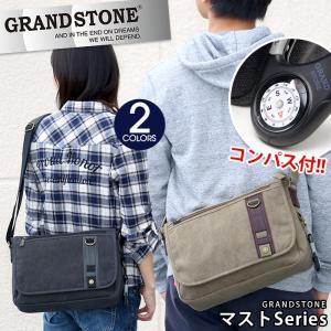 GRAND STONE グランドストーン ショルダーバッグ メッセンジャーバッグ MAST マスト メンズ レディース 男女兼用 ブランド 送料無料 セール|pro-shop
