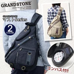 ボディバッグ GRAND STONE グランドストーン トライアングル ボディーバッグ メンズ レディース ブランド 送料無料 旅行 レジャー フェス アウトドア|pro-shop