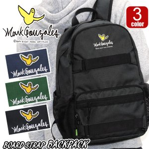 リュック Mark Gonzales マークゴンザレス ボードストラップ デイパック リュックサック バックパック メンズ レディース ブランド 旅行 サイドポケット|pro-shop