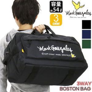 ボストンリュック Mark Gonzales マークゴンザレス 大容量 54L ボードストラップ 3WAY ボストン リュックサック デイパック ショルダー メンズ レディース|pro-shop