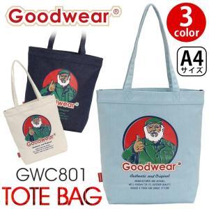 トートバッグ Goodwear グッドウェア キャンバストートバッグ デニム メンズ レディース ユニセックス ブランド 旅行 レジャー アウトドア|pro-shop