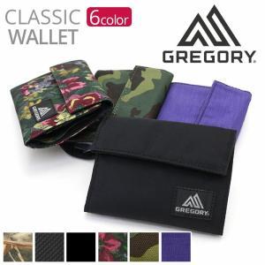 財布 三つ折り グレゴリー GREGORY ウォレット CLASSIC WALLET 正規品 ミニウォレット メンズ レディース ブランド レジャー マジックテープ 小銭入れ pro-shop