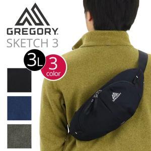 ボディバッグ グレゴリー GREGORY スケッチ3  SKETCH 3 アスペクト ボディーバッグ ウエストバッグ 斜め掛け ワンショルダー レディース メンズ ブランド|pro-shop