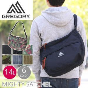 ショルダーバッグ グレゴリー GREGORY マイティー サッチェル MIGHTY SATCHEL 14 バナナ型 ショルダー レディース メンズ ブランド 軽量 大容量|pro-shop