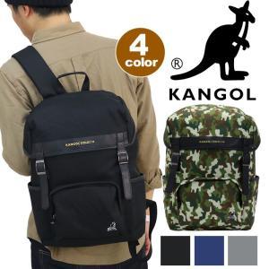 リュックサック KANGOL フラップリュック デイパック バックパック カンゴール 送料無料 セール メンズ レディース 男女兼用 サイドポケット ブランド|pro-shop