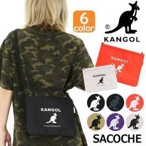 サコッシュ カンゴール KANGOL ショルダー バッグ クラッチバッグ メンズ レディース 男女兼用 ブランド 旅行 サブバッグ フェス アウトドア|pro-shop