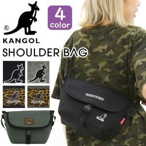 メッセンジャーバッグ カンゴール KANGOL ショルダー バッグ コンパクト スタイリッシュ サブバッグ メンズ レディース 男女兼用 ブランド 旅行 レジャー セール|pro-shop