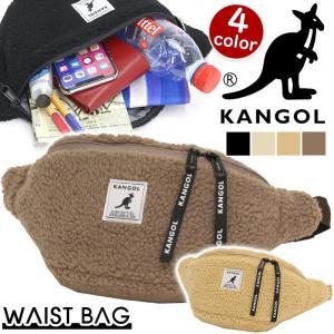 ウエストバッグ KANGOL カンゴール ボア ウエスト バッグ ボディバッグ ウエストポーチ ワンショルダー 斜め掛け 旅行 レジャー アウトドア|pro-shop