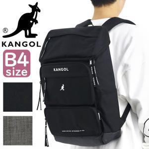 リュック 通学 カンゴール KANGOL 人気 通学リュック スクエア 四角 リュックサック おしゃれ メンズ レディース|pro-shop