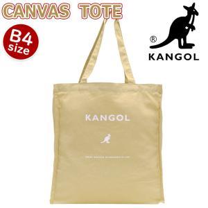 トートバッグ KANGOL カンゴール トート バッグ コットン キャンバス 手提げ 肩掛け 通学 メンズ レディース ブランド|pro-shop
