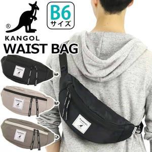 ウエストバッグ KANGOL カンゴール メンズ レディース 2021 春夏 新作 ボディバッグ クロスボディ ヒップバッグ|pro-shop