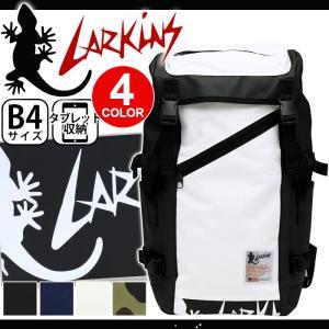 ラーキンス リュック LARKINS リュックサック デイパック バックパック スクエア かぶせ ターポリン 送料無料 ブランド pro-shop