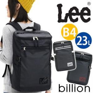 リュックサック Lee リー スクエア リュック バックパック デイパック バッグ かばん トップオープン レディース メンズ 男女兼用 ブランド pro-shop