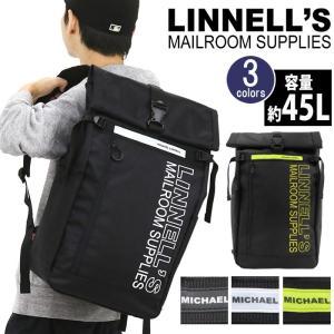 リュックサック MICHAEL LINNELL'S マイケルリンネル 大容量 45L ロールトップ 口折れ リュック バックパック デイパック メンズ レディース ブランド 旅行 pro-shop
