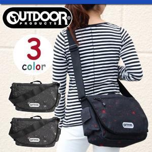 OUTDOOR PRODUCTS アウトドア ショルダーバッグ メッセンジャーバッグ アウトドアプロダクツ 人気のコスモ柄 メンズ レディース 通勤 通学 pro-shop