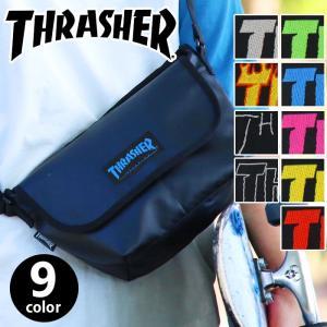 THRASHER スラッシャー ショルダーバッグ ショルダー メッセンジャー メッセンジャーバッグ ミニバッグ スケートブランド メンズ THRPD-3901 thrasher-029 pro-shop