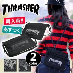 サコッシュ 送料無料 THRASHER スラッシャー サコッシュショルダー サコッシュバッグ ショルダーバッグ メンズ レディース ブランド アウトドア フェス レジャー pro-shop
