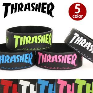 人気のスケートブランド「THRASHER」より、待望のラバーバンドが登場!お馴染みのマグロゴとSKA...