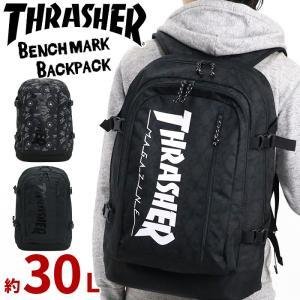 リュック THRASHER スラッシャー 大容量 通学リュック 正規品 リュックサック デイパック バックパック メンズ レディース ブランド レジャー フェス 旅行|pro-shop