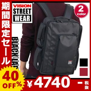 6dd2ccedc3f6 リュックサック VISION STREET WEAR リュック デイパック バックパック ビジョン ストリートウエア 送料無料 メンズ レディース  ブランド セール