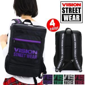 66473e8f1c3c リュック VISION STREET WEAR ビジョン ストリートウエア スクエア リュックサック デイパック バックパック メンズ レディース