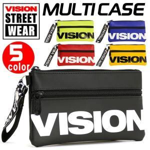 ミニポーチ VISION STREET WEAR ビジョン ストリートウェア ポーチ 小物入れ ミニサイズ マルチケース メンズ レディース 男女兼用 ブランド アウトドア 撥水|pro-shop