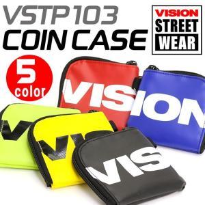 コインケース 財布 VISION STREET WEAR ビジョン ストリートウェア 小銭入れ メンズ レディース 男女兼用 ブランド 軽量 おしゃれ|pro-shop