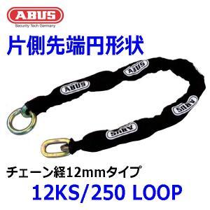 ABUS チェーン 12KS/250 LOOP チェーン径12mmタイプ 屈強チェーン  多発する盗難の対策に最高・最強のチェーン|pro-tecta-shop