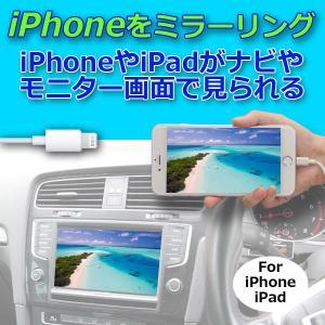 ミラーリングアダプタ iPhone,iPad用PML2   HDMI出力とRCAアナログ出力の2系統を搭載し、同時出力が可能。 PRO-TECTA|pro-tecta-shop