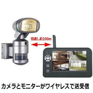 送料無料 人を検知した方向に向かってカメラとライトが自動回転するビデオカメラ付きセンサーライト ナイトウォッチャーPRO NW-PRO-B|pro-tecta-shop