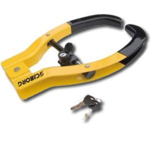 盗難防止 自動車バイク用タイヤロック サイボーグタイヤロック SCIBORG Tire Locks 2000M|pro-tecta-shop