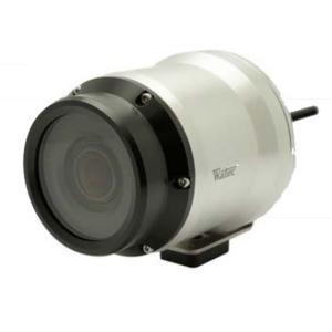 ワテック WAT-400D2 防水ハウジング、レンズ、電源重畳ケーブル一体型で設置がシンプル 防水カラーカメラ 【送料無料】|pro-tecta-shop