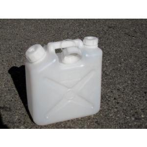 ポリタンク白 5L 水入れ容器 ノズル付き|pro-yama