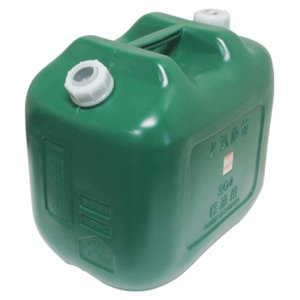 軽油缶ポリタンク緑20Lワイド8個 消防法適合品|pro-yama