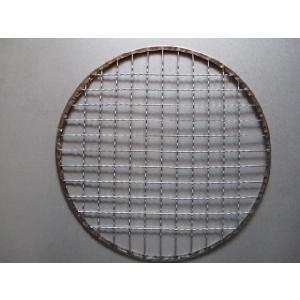 焼きアミ、もち焼きアミ、丸型径240ミリ|pro-yama