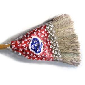 絹草ほうき短柄19570 八ツ矢製|pro-yama