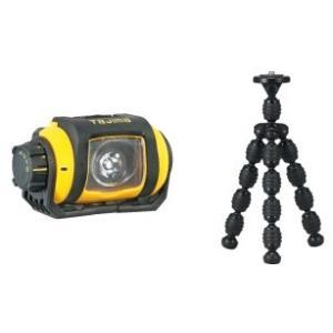 タジマ LEDヘッドライト ペタLE-W151 タコポ三脚付き|pro-yama