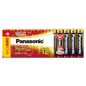 乾電池 パナソニックアルカリ単4×12本 メール便可|pro-yama