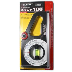 ダイヤル式勾配計 スラント100 タジマSLT-100|pro-yama